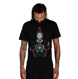 Occult T Shirt Kali Shiva T Shirt Heavy Metal Skull T Shirt