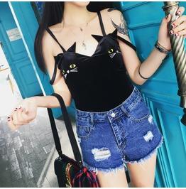 Cat Top / Camiseta Gato Wh349