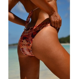 Gold Leopard Bikini Bottom