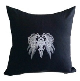 Embroidered Gothic Ghostly Baroque Series Pillow Cushion Covers