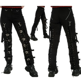 Women Dead Threads Trouser Black Cotton Pant Punk Rock