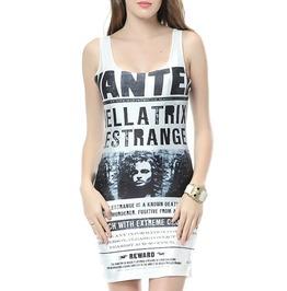 Vintage Milk Print Sleevelesss Bandage Dress With O Neck Neckline