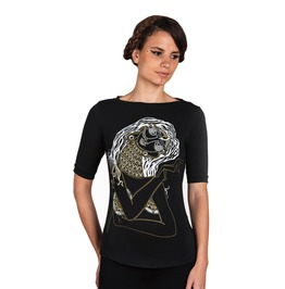 Twisted Vision Women's Graphic Tee Womens Festival Clothing