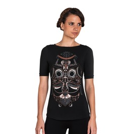 Graphic Women's T Shirt Occult Top Son Of Love Tee