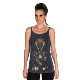 Space Time Tank Top Past Present Future Graphic Top
