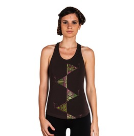 Elements Of Nature Tank Top Geometric Print Top