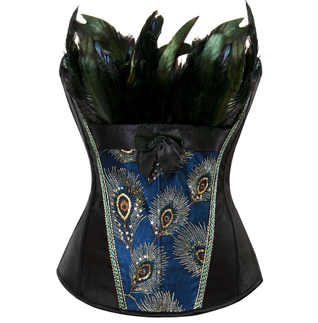 rebelsmarket_peacock_embroidery_feathers_design_burlesque_overbust_corset_plus_size_bustiers_and_corsets_9.jpg