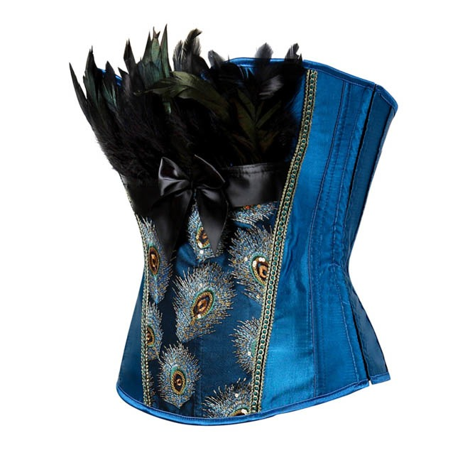 rebelsmarket_peacock_embroidery_feathers_design_burlesque_overbust_corset_plus_size_bustiers_and_corsets_7.jpg