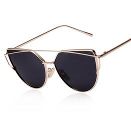 Stylish Cateye Metal Women's Sunglasses
