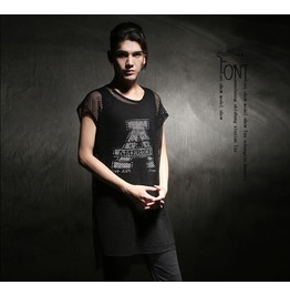 New Black Mesh Hip Hop Summer Tshirts Men's Slim Fit Tank Tops