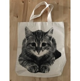 Sale Item! Cat Fashion Summer Canvas Tote Bag