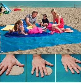 New Sandless Technology Beach Outdoors Mat Home Blue/ Green/ Red