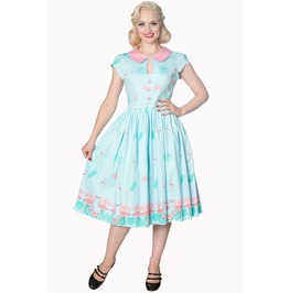 Banned Apparel Blue Going My Way Dress