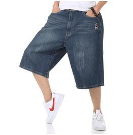 Mens Designer Baggy Wide Loose Fitting Denim Jean Summer Skate Shorts