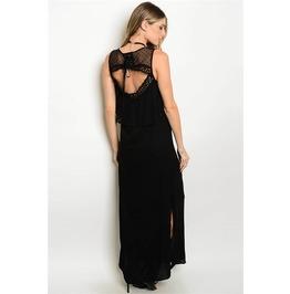 Long Boho Lace Summer Dress