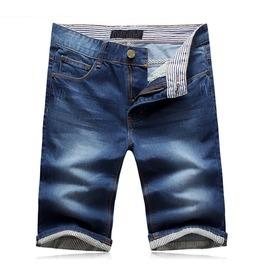 Mens Casual Comfy Fitting Denim & Cotton Jean Summer Shorts Hot Sale