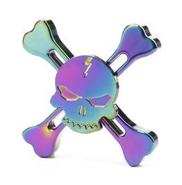 Hologram Skull Fidget Spinner