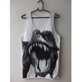 Dinosaurs Animal Pop Rock Fashion T Shirt Tank Top