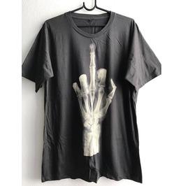 F**K X Ray Finger Punk Rock Goth Fashion Rock Indie T Shirt Unisex Xl