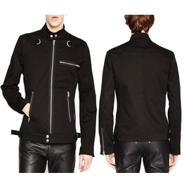 Men Tripp Emo Biker Jacket Gothic Motorcycle Punk Rock Jacket Men Coat