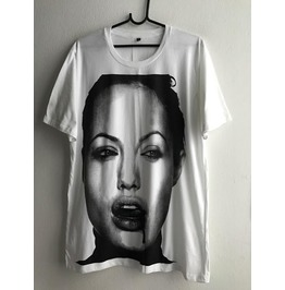 Angelina Jolie Movie Star T Shirt Xl