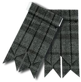 Scottish Tartan Kilt Flashes Garters Available In Various Tartan