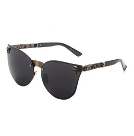 New Cat Eye Skull Women's Bad Ass Sunglasses