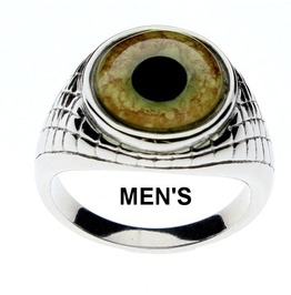 Leopard Eye Ring | Leopard Glass Eye |Unisex Ring| Men's Ring| Leopard Ring