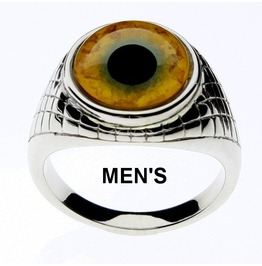 Tiger Eye Ring | Tiger Glass Eye | Unisex Ring | Men's Ring | Tiger Jewelry