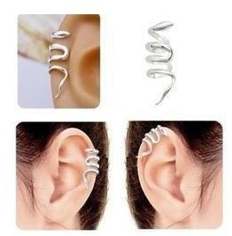 Silver Snake Ear Wrap ~ Unisex