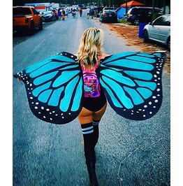 Rave Wing Cape Butterfly Party Festival