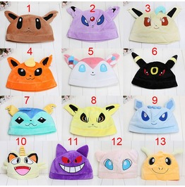Pokemon Go Hats Gorros Wh364