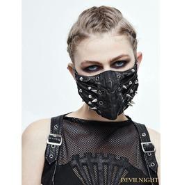 Black Gothic Punk Mask Mk01501
