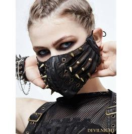 Bronze Gothic Punk Mask Mk01502