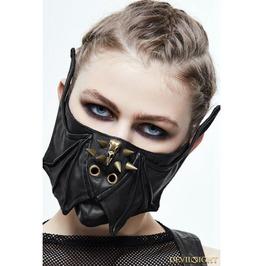 Bronze Gothic Punk Bat Style Mask Mk016