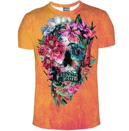 Flowerity Skull T Shirt