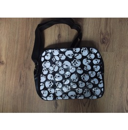 Skulls Messenger Shoulder Flight Bag