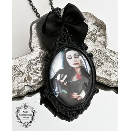 Morticia Adams Necklace