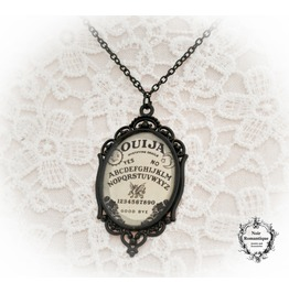 Ouija Necklace 30x40mm