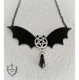 The Evil Bat Necklace