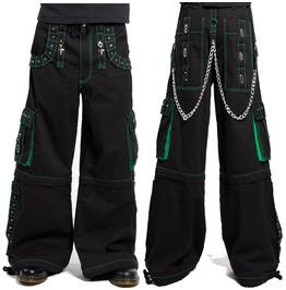 Men Gothic Bondage Pant Alternative Punk Rock Emo Pant Trouser Pant Shorts