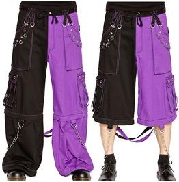 Men Bondage Pant Gothic Chain Techno Rave Goth Cyber Jean Punk Rock Pant