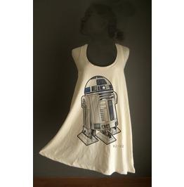 Retro R2 D2 Star Wars Organic Cotton Tunic M/L