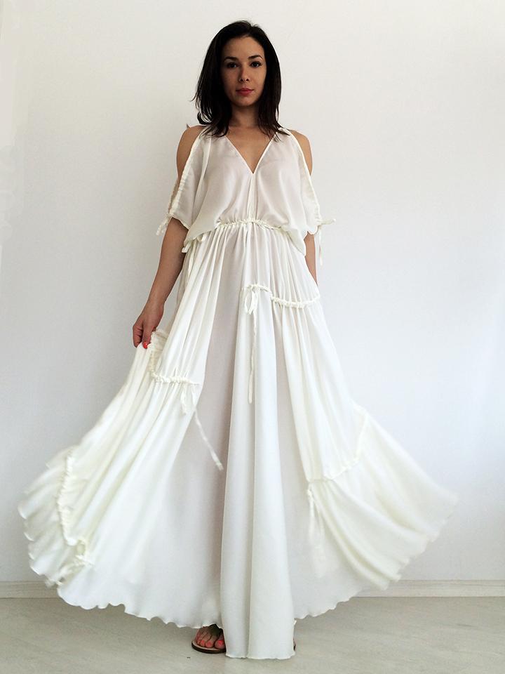 White Maxi Summer Dresses