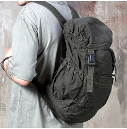 Vintage Minimal Military Cotton Backpack 64