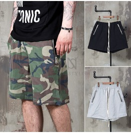 Drawcord Track Sweat Shorts 80