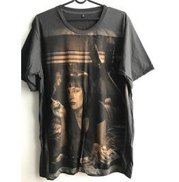 Uma Thurman Pulp Fiction Movie Film Rock T Shirt Unisex Xl