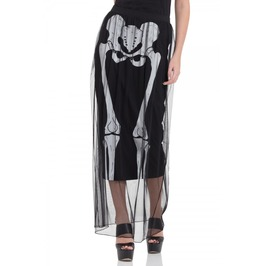 Jawbreaker Clothing Skeleton Layer Skirt