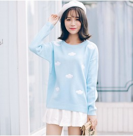 Clouds Sweater / Jersey Nubes Wh372