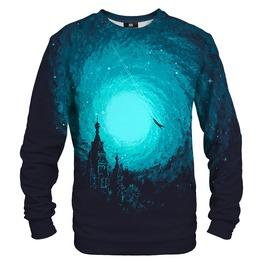 Flying Man Cotton Sweater